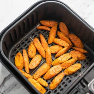 Air Fried Carrots Recipe in Air Fryer @BestRecipeBox