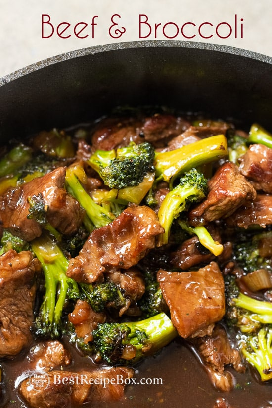 Easy and Best Chinese Beef and Broccoli Recipe Restaurant Style | @bestrecipebox
