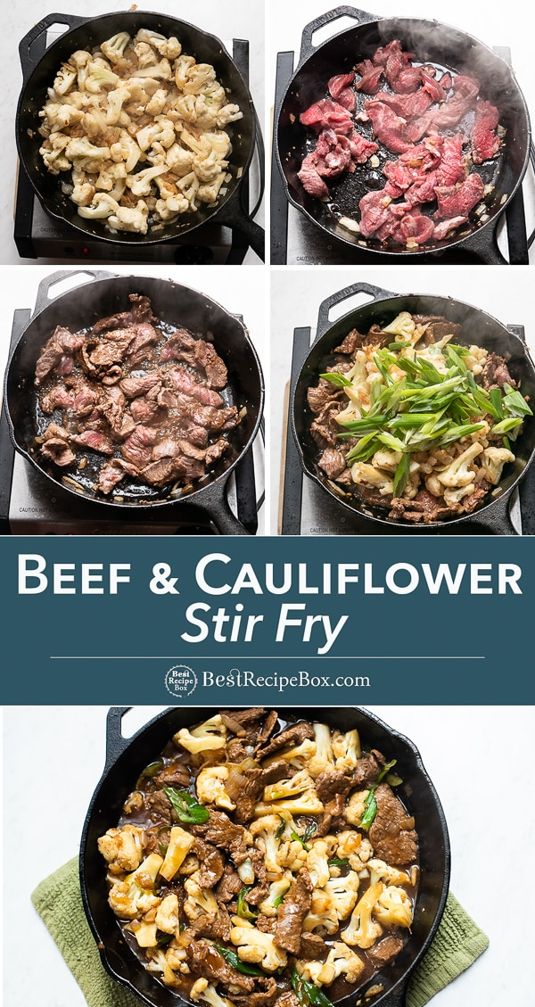 Step by step photos of how to cook beef and cauliflower stir fry from brb-staging.jc6xfl4c-liquidwebsites.com
