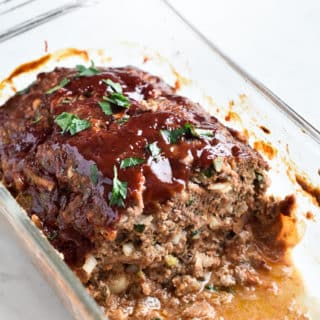 Best Juicy Meatloaf Recipe and Leftover Meatloaf Sandwich | @bestrecipebox