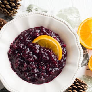 Fresh Cranberry Sauce Recipe | @bestrecipebox