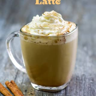 Best Pumpkin Spice Latte Recipe like Starbucks Pumpkin Spice Latte | @bestrecipebox